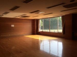 清水ヶ丘公園体育館第二体育室①